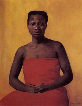 Seated Black Woman, Front View